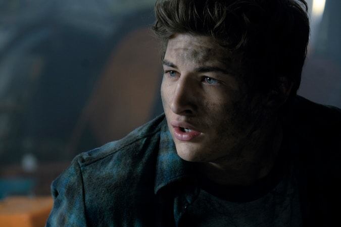 """TYE SHERIDAN as Wade Watts in Warner Bros. Pictures,' Amblin Entertainment's and Village Roadshow Pictures' science fiction action adventure """"READY PLAYER ONE,"""" a Warner Bros. Pictures release."""