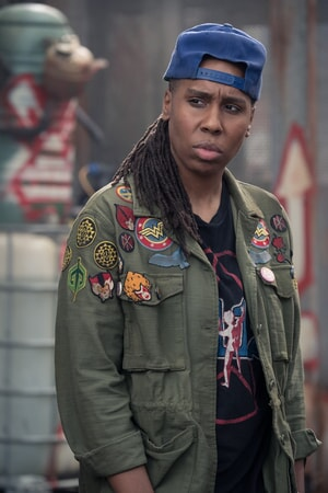 """LENA WAITHE as Helen in Warner Bros. Pictures', Amblin Entertainment's and Village Roadshow Pictures' action adventure """"READY PLAYER ONE,"""" a Warner Bros. Pictures release."""