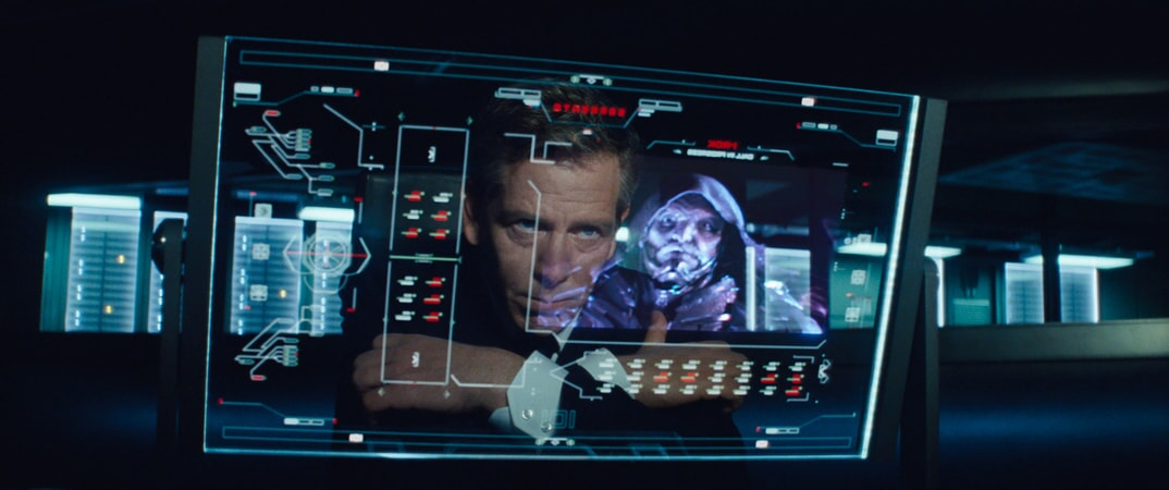"""BEN MENDELSOHN as Nolan Sorrento in Warner Bros. Pictures', Amblin Entertainment's and Village Roadshow Pictures' action adventure """"READY PLAYER ONE,"""" a Warner Bros. Pictures release."""
