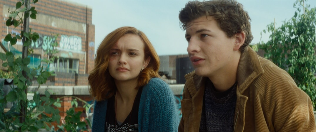 """(L-R) OLIVIA COOKE as Samantha and TYE SHERIDAN as Wade in Warner Bros. Pictures', Amblin Entertainment's and Village Roadshow Pictures' action adventure """"READY PLAYER ONE,"""" a Warner Bros. Pictures release."""