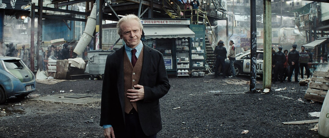 """SIMON PEGG as Ogden Morrow in Warner Bros. Pictures', Amblin Entertainment's and Village Roadshow Pictures' action adventure """"READY PLAYER ONE,"""" a Warner Bros. Pictures release."""