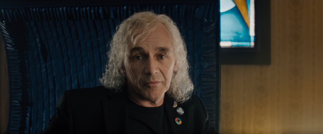 """MARK RYLANCE as James Halliday in Warner Bros. Pictures', Amblin Entertainment's and Village Roadshow Pictures' action adventure """"READY PLAYER ONE,"""" a Warner Bros. Pictures release."""