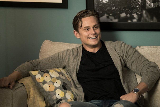 "BILLY MAGNUSSEN as Ryan in New Line Cinema's action comedy ""GAME NIGHT,"" a Warner Bros. Pictures release."