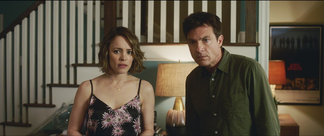 "RACHEL McADAMS as Annie and JASON BATEMAN as Max in New Line Cinema's action comedy ""GAME NIGHT,"" a Warner Bros. Pictures release."