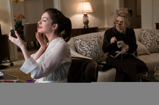"(L-R) ANNE HATHAWAY as Daphne Kluger and HELENA BONHAM CARTER as Rose in Warner Bros. Pictures' and Village Roadshow Pictures' ""OCEAN'S 8,"" a Warner Bros. Pictures release."