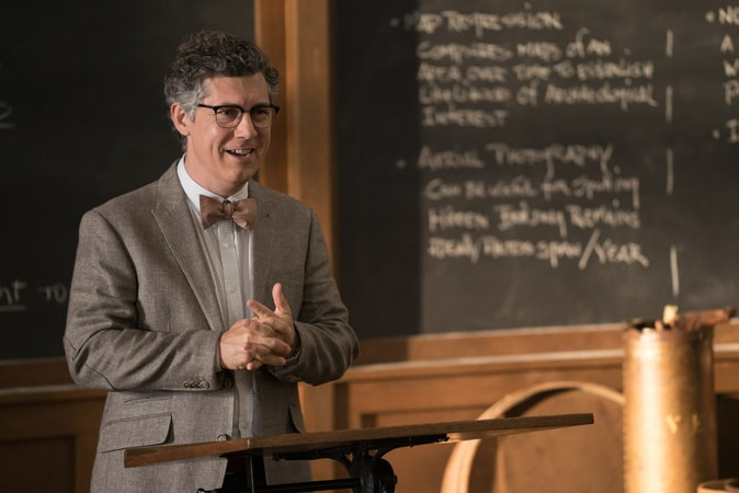 "CHRIS PARNELL as Mr. Truzack in New Line Cinema's comedy ""LIFE OF THE PARTY,"" a Warner Bros. Pictures' release."