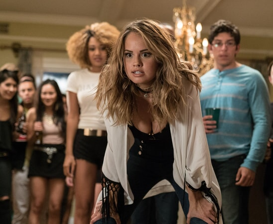 "(L-R) YANI SIMONE as Trina and DEBBY RYAN as Jennifer in New Line Cinema's comedy ""LIFE OF THE PARTY,"" a Warner Bros. Pictures' release."
