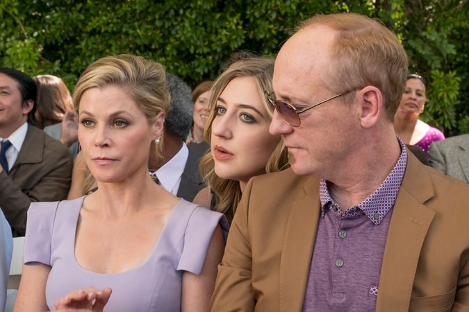 "(L-R) JULIE BOWEN as Marcie, HEIDI GARDNER as Leonor and MATT WALSH as Dan in New Line Cinema's comedy ""LIFE OF THE PARTY,"" a Warner Bros. Pictures' release."