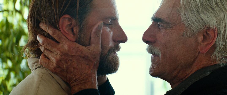 BRADLEY COOPER as Jack and SAM ELLIOTT as Bobby