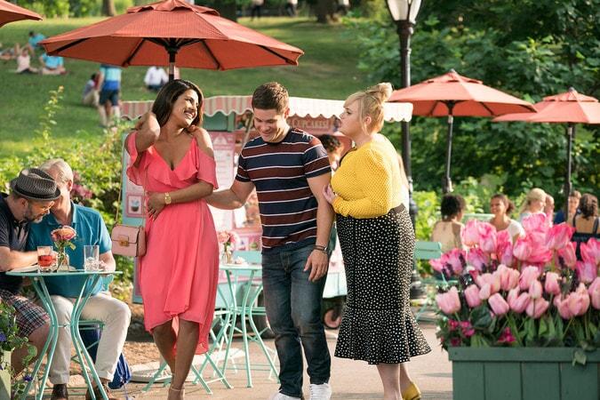 (L-R) PRIYANKA CHOPRA as Isabella, ADAM DEVINE as Josh and REBEL WILSON as Natalie