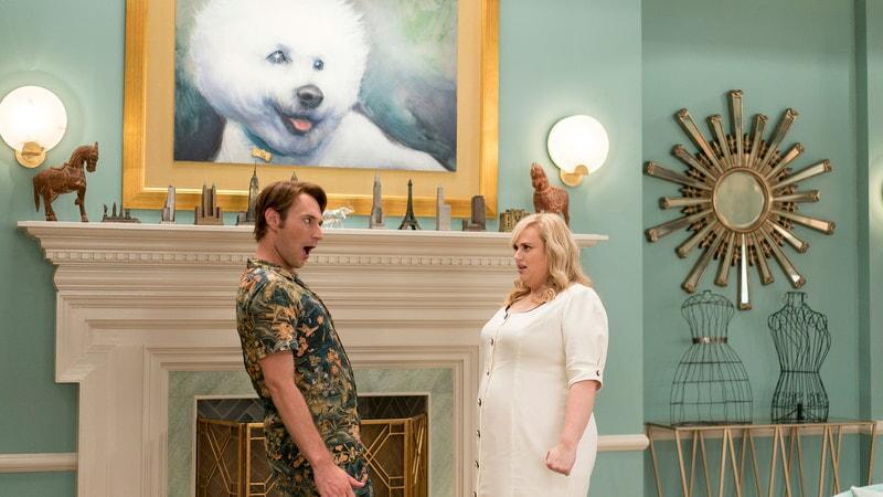 (L-R) BRANDON SCOTT JONES as Donny and REBEL WILSON as Natalie