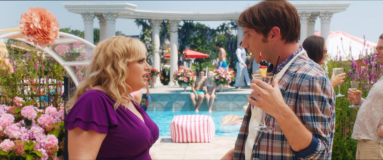 (L-r) REBEL WILSON as Natalie and BRANDON SCOTT JONES as Donny