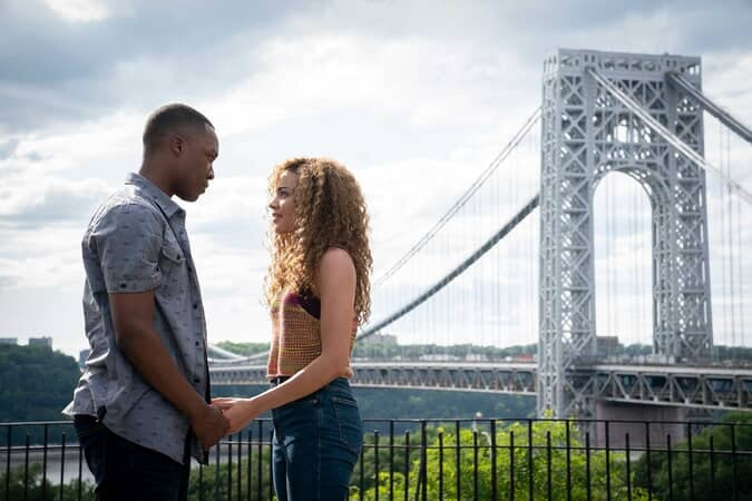 """COREY HAWKINS as Benny and LESLIE GRACE as Nina in Warner Bros. Pictures' """"IN THE HEIGHTS."""""""