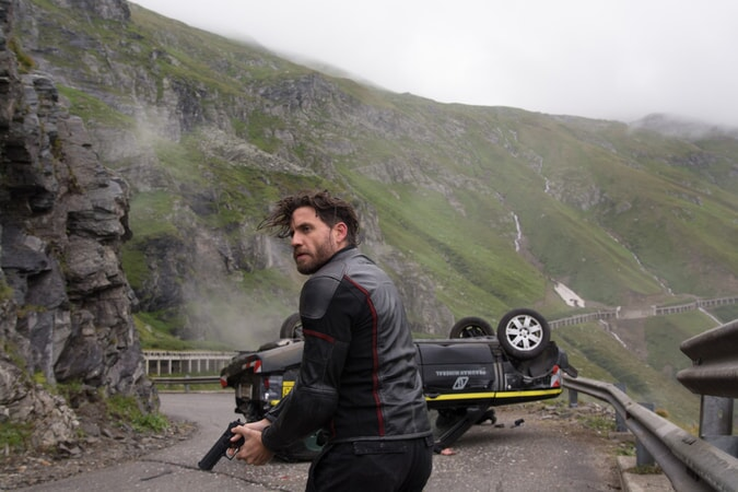 "EDGAR RAMIREZ as Bodhi in Alcon Entertainment's action thriller ""POINT BREAK,"" a Warner Bros. Pictures release."