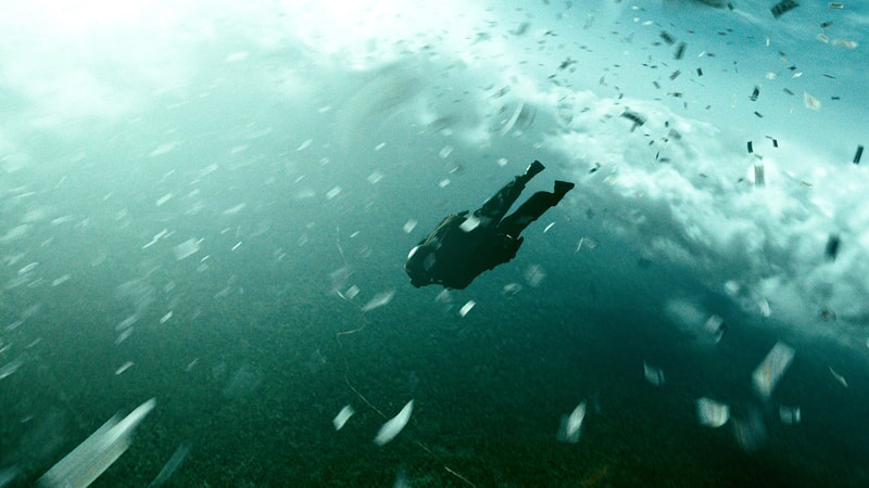 "A scene from Alcon Entertainment's action thriller ""POINT BREAK,"" a Warner Bros. Pictures release."