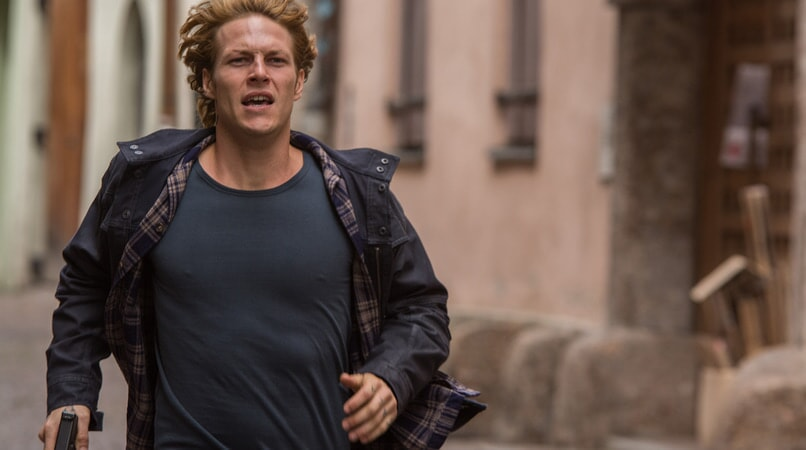 "LUKE BRACEY as Johnny Utah in Alcon Entertainment's action thriller ""POINT BREAK,"" a Warner Bros. Pictures release."