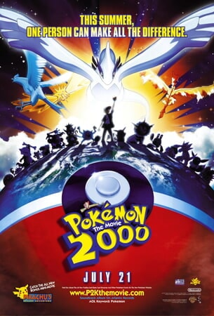 Pokemon the Movie 2000 - Poster 1
