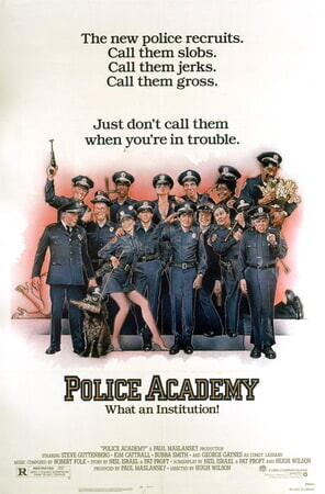 Police Academy - Poster 2