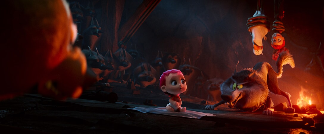 "The baby in the new animated adventure ""STORKS,"" a Warner Bros. Pictures release."