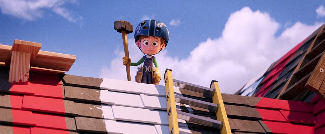 Nate Gardner voiced by ANTON STARKMAN