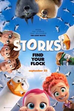 storks poster in theaters september 23