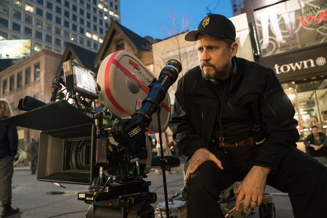 """Writer/director DAVID AYER on the set of Warner Bros. Pictures' action adventure """"SUICIDE SQUAD"""""""