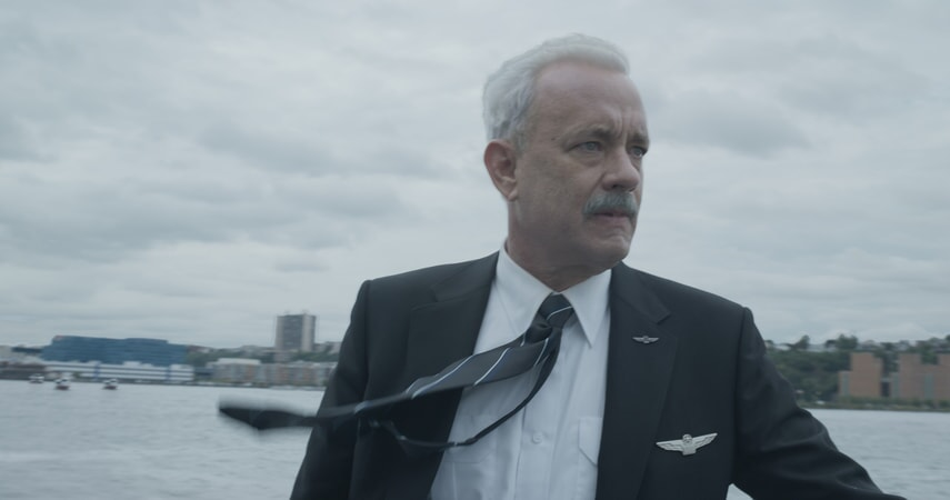 """TOM HANKS as Chesley """"Sully"""" Sullenberger in Warner Bros. Pictures' and Village Roadshow Pictures' drama """"SULLY,"""" a Warner Bros. Pictures release."""