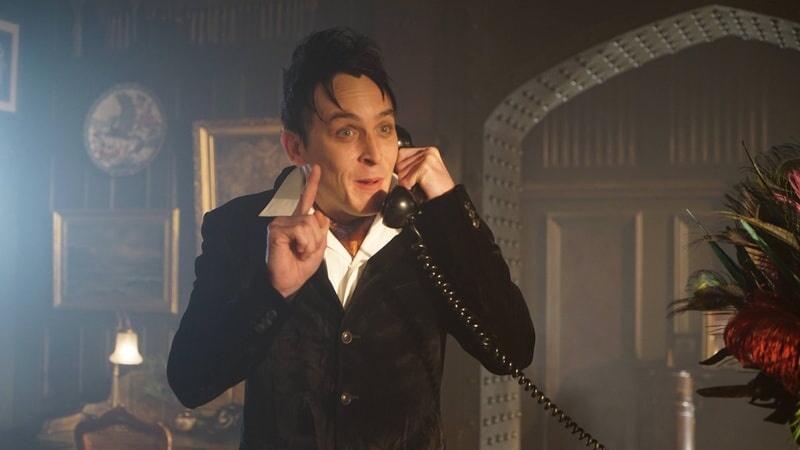 """Robin Lord Taylor as Oswald Cobblepot / The Penguin. Gotham 3, ep. 7 """"The Red Queen"""""""