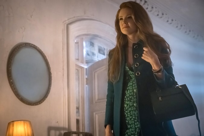 """Maggie Geha as Ivy Pepper. Gotham 3, ep. 9 """"The Executioner"""""""