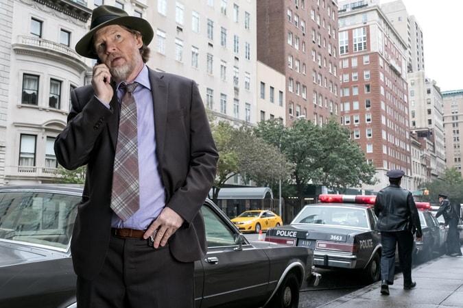"Donal Logue as Detective Harvey Bullock. Gotham 3, ep. 9 ""The Executioner"""