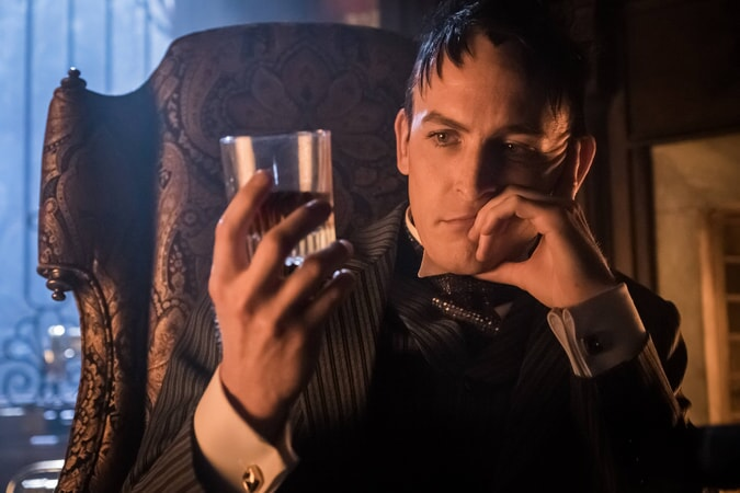 """Robin Lord Taylor as Oswald Cobblepot/The Penguin. Gotham 3, ep. 8 """"Blood Rush"""""""