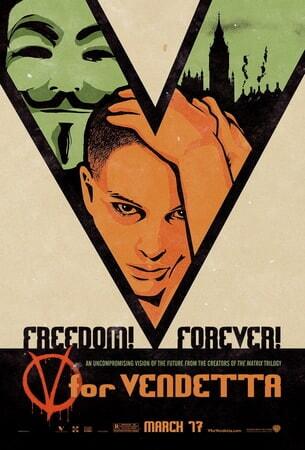 V for Vendetta - Poster 2