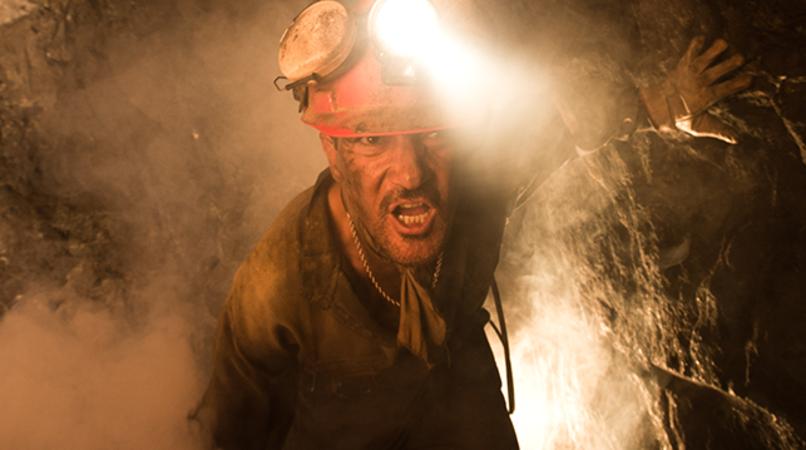 """ANTONIO BANDERAS as Mario Sepúlveda in Alcon Entertainment's true-life drama """"THE 33,"""" a Warner Bros. Pictures Release."""