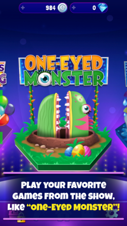 Game of Games - One Eyed Monster