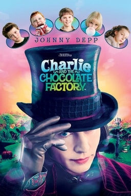 Charlie and the Chocolate Factory keyart