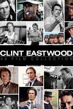 Clint Eastwood 40-film Collection keyart
