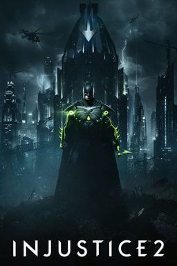 Injustice 2: Batman in front of Gotham City