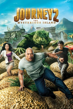 Journey 2: the Mysterious Island keyart