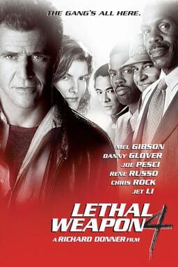 Lethal Weapon 4 keyart