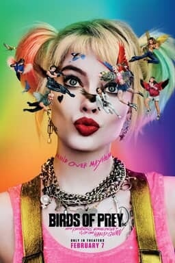 Birds of Prey Harley Quinn - Key Art