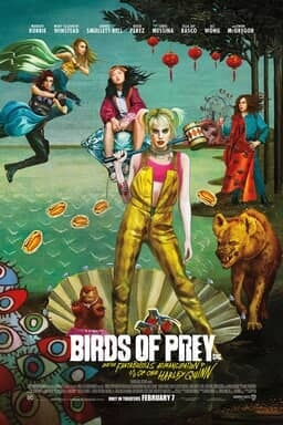 Birds of Prey - Theatrical Key Art
