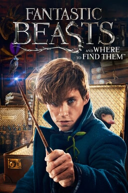 Fantastic Beasts and Where to Find Them home video poster