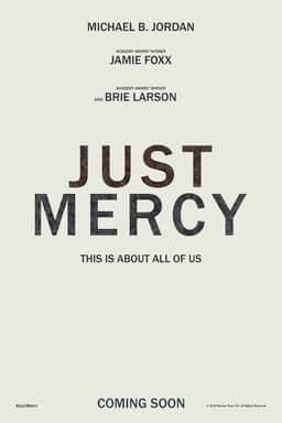 Just Mercy - Key Art