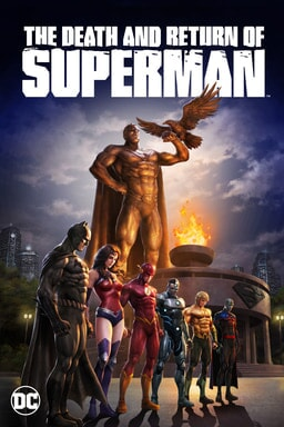 The Death and Return of Superman - Key Art