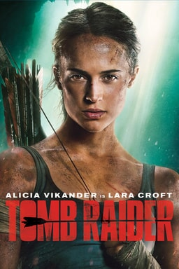 tomb raider home entertainment poster