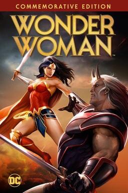 wonder woman (animated) commemorative edition