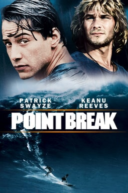1991's point break available now on blu-ray dvd and digital