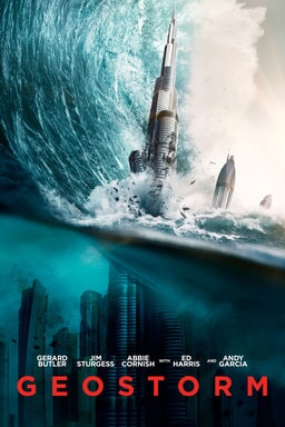 geostorm home video poster