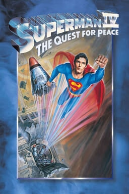 Superman IV: Quest for Peace keyart