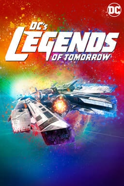 Wave Rider ship - Season 3 poster for DC's Legends of Tomorrow